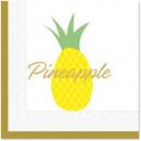 ingrosso Articoli da Regalo & Cartoleria: Ananas, tovagliolo di ananas 20 pezzi