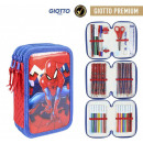 Spiderman pen holder filled with 3 floors