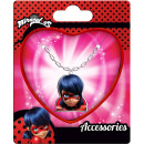 Miraculous Ladybug Necklace + Pendant Set