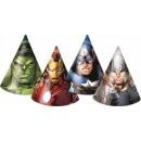wholesale Headgear: Avengers, Avengers  party hats, just 6 pieces