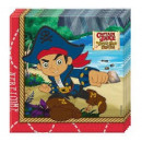 grossiste Linge de table: Disney Jake and  the Never Land Pirates Napkin