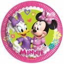 wholesale Party Items: Disney Minnie Paper Plate 8 pcs 19.5 cm