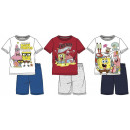 wholesale Fashion & Apparel: SpongeBob Kid's Short pyjamas 4-12 years