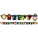 Großhandel Lizenzartikel: Emoji Happy Birthday Untertitel 193 cm