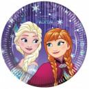 Disney frozen , Ice Cream Paper plate 8 pcs