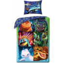 Dragons , Dragons bedding cover 140 × 200cm, 70 ×