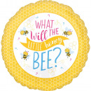groothandel Stationery & Gifts: Bee, Bee folie ballonnen 43 cm