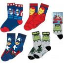 mayorista Artículos con licencia: Calcetines de los  niños Avengers, Vengadores 23-34