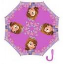Enfant parapluie semi-automatique Disney Sofia 48