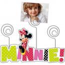 Wood Frame Disney Minnie