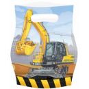 Großhandel Geschenkverpackung: Construction, Construction Geschenkbeutel 8-tlg