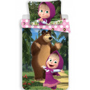 Masha and the bear bedding cover is 140 × 200cm, 7