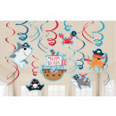 Pirate, Pirate Ribbon Decoration Set of 12