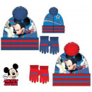 Kinderen mutsen en  handschoenen set Disney Mickey