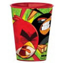 Angry Birds glass, plastic