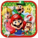 Super Mario Paper Plate 8 x 18 cm
