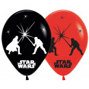 Star Wars Illuminated LED Balloon with 5 pcs Ballo