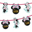 Disney Minnie Party Gem Garland Decoration