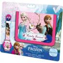 Digital watch + wallet Disney frozen