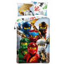 LEGO Ninjago bedding cover 140 × 200cm, 70 × 90 cm