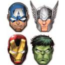 wholesale Party Items: Avengers , Rogues Mask, mask 6 pcs