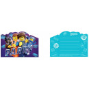 LEGO Movie, LEGO Adventure Party Invitation with 8