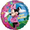 Großhandel Partyartikel: Disney Minnie Folie Ballons 43 cm