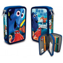Pen-filled two-story Disney Nemo and Dory