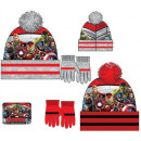 Children's hats & gloves set Avengers, Ave