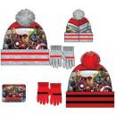 Children's hats & gloves set Avengers, Ave