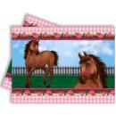 Reiter, die Pferde  Tischdecke 120 * 180 cm