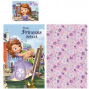 Children's linen cover Disney Sofia , Sofia 90