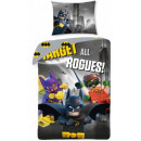 LEGO Batman bed linen 140 × 200cm, 70 × 90 cm