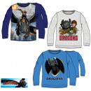 wholesale Childrens & Baby Clothing: Kids' Long Sleeve T-shirt Dragons 3-8 years