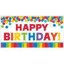 Happy Birthday Wall Decor 165 * 85 cm