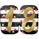 Happy Birthday 18 Foil balloons 63 cm