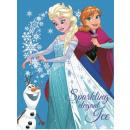 Disney Ice magic fleece Duvert 120 * 150cm