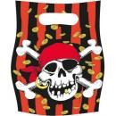 Pirate, Pirate Gift Bag 6 st