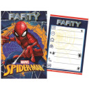 wholesale Gifts & Stationery: Spiderman Party Invitation Card