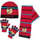 Bambini cap + scarf + Glove Set Disney Mickey