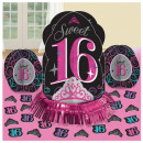 Happy Birthday 16 Table Decoration Set