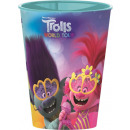Trolls , Trolls glass, plastic 260 ml