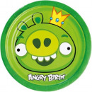 Angry Birds Paper Plate 8 x 18 cm