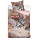 Cat, The Cat bedding cover is 140 × 200 cm, 70 × 9