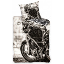 Motorbike, Motor bed linen 140 × 200cm, 70 × 80 cm