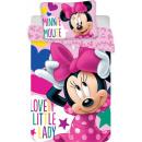 Pościel dla dzieci plusz Disney Minnie 100 × 135cm