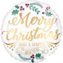 Wesołych Świąt, Wesołych Świąt Balony foliowe 45 c