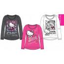 Kinder Langarm-T-Shirt Hello Kitty 4-10 Jahre