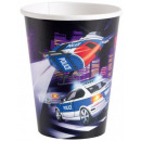 wholesale Houshold & Kitchen: Police 8 pieces of paper cups 266 mL
