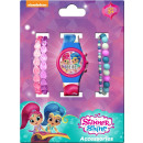 Digital watch + bracelet set Shimmer and Shine